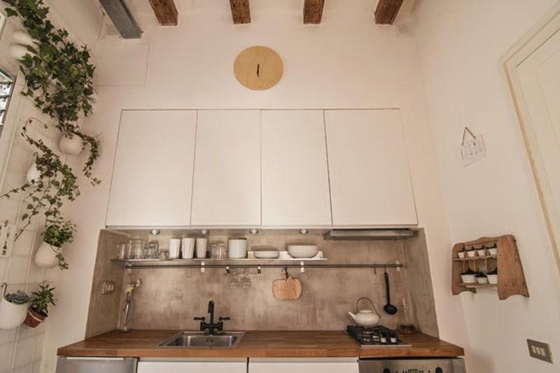 piso del Eixample de Barcelona transformado en un loft
