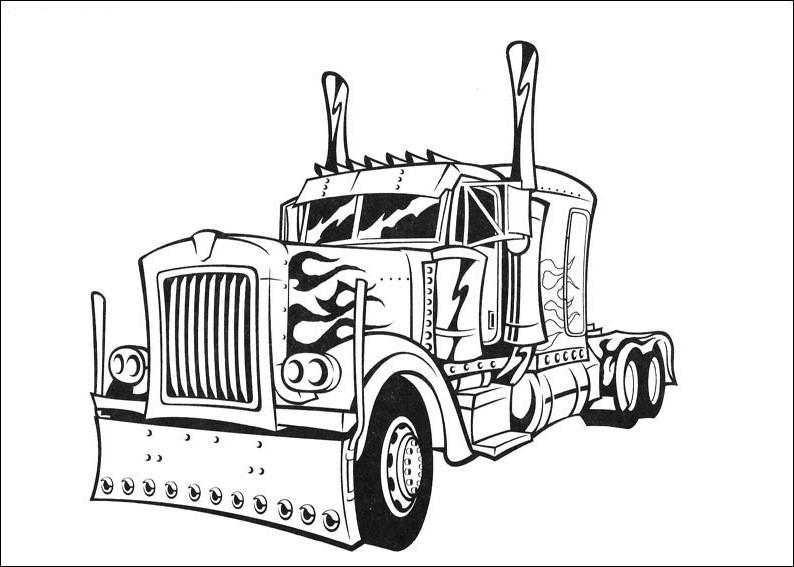 Desenhos de Transformers para colorir Páginas de colorir