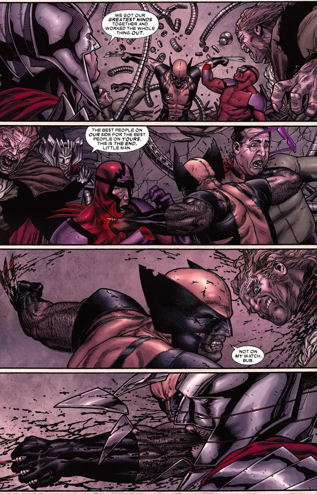 Read online Wolverine (2003) comic -  Issue #70 - 8