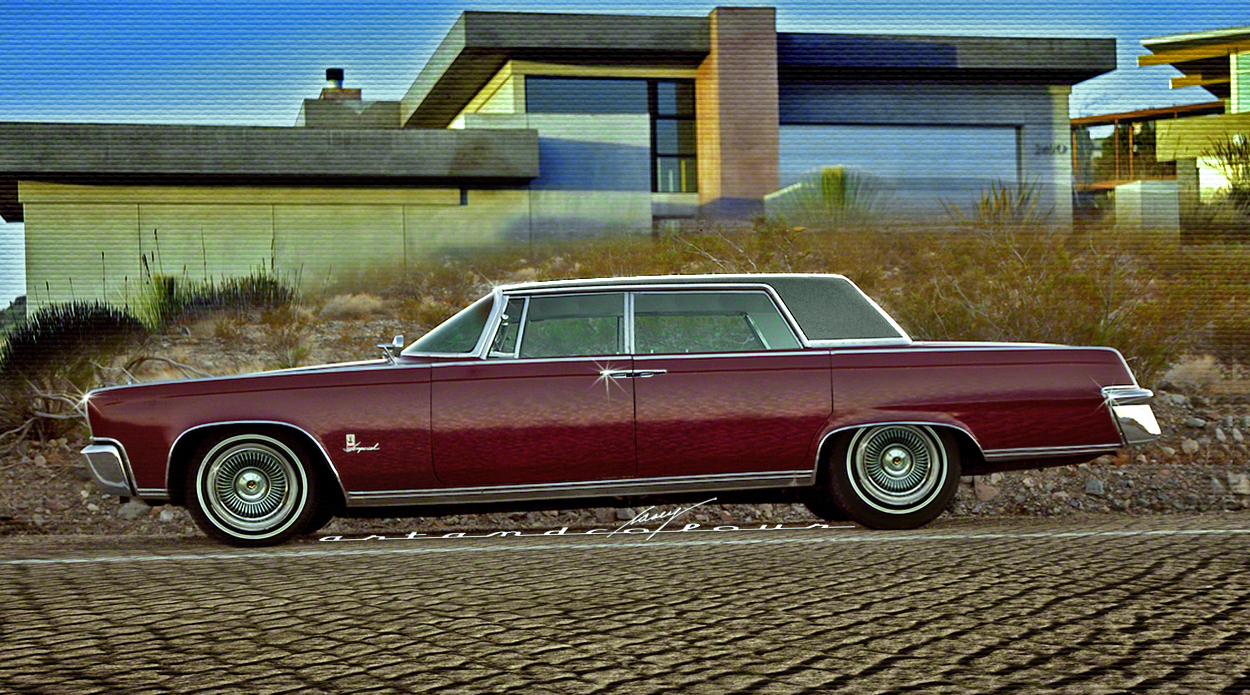Casey artandcolour cars february 2012 - 1964 Imperial Crown Lwb 5 Passenger Sedan