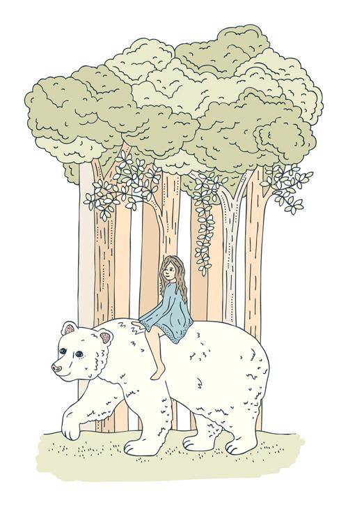 Emma Margaret Illustration East Sun West Moon 2016
