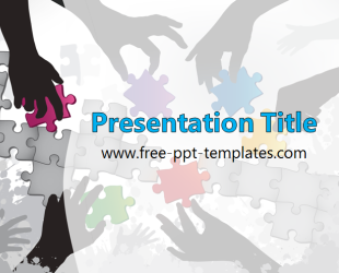 Teamwork PPT Template | Free PowerPoint Templates