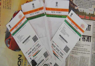 Aadhaar Cards ki photos