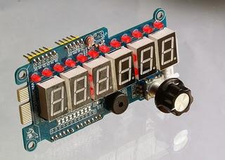 Contagem de tempo regressivo com Arduino