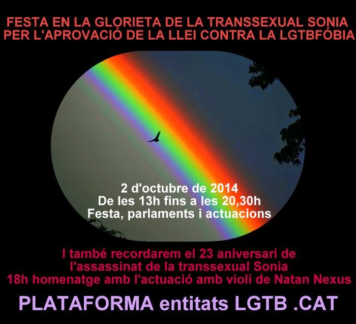 APROVACIÓ LLEI CONTRA LA LGTBfobia
