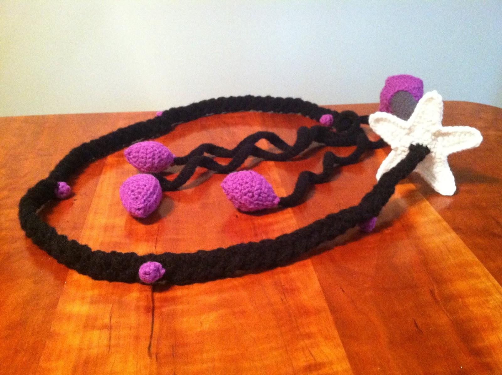Heart in Flight Crochet: Crocheted Amethyst Whip Pattern ...