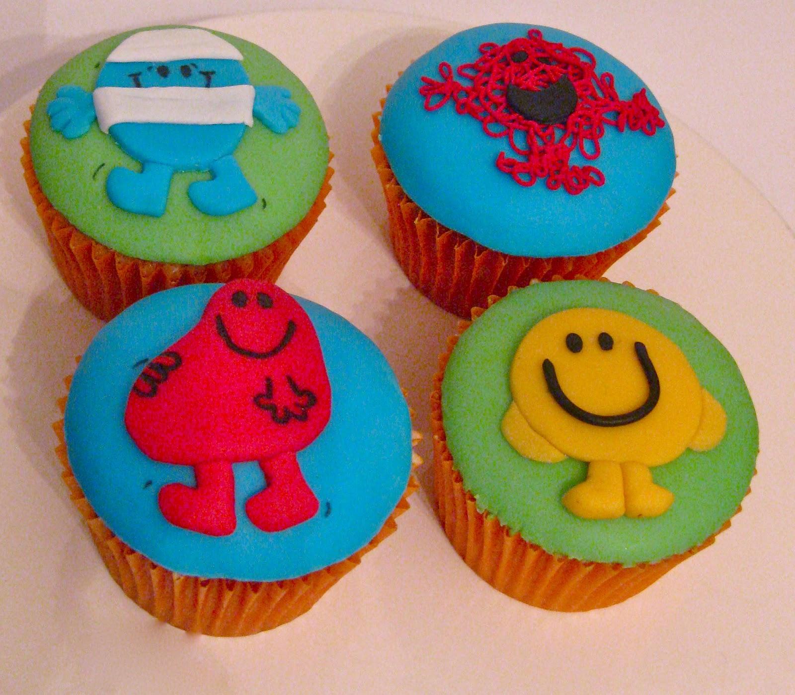 Mr Tickle And Mr Men Cupcakes Boutique Cake Shop