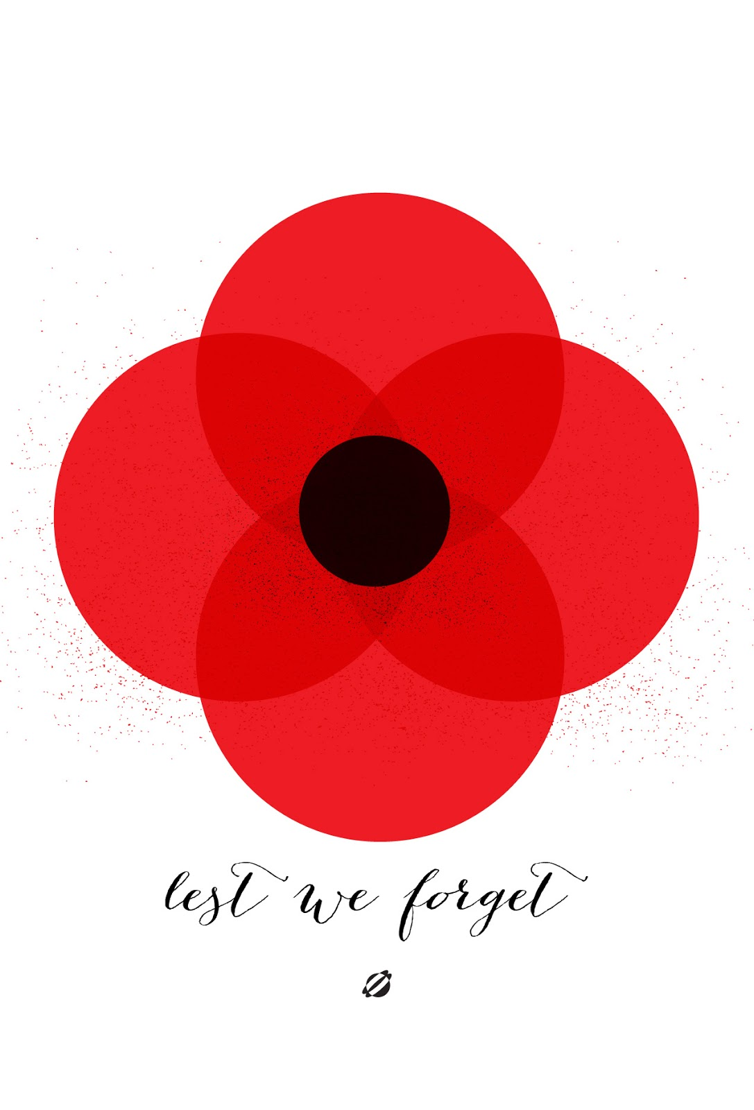 LostBumblebee 2013 Free Printable- Remembrance Day - Lest We Forget
