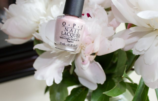Peony flowers OPI Play the Peonies