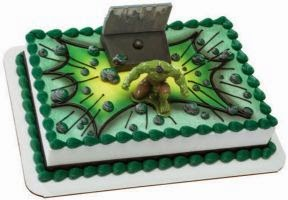 Tortas de Hulk, parte 2