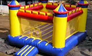 castle bouncer kanak-kanak