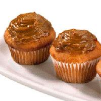 Receta de Muffins cubiertos con dulce de leche