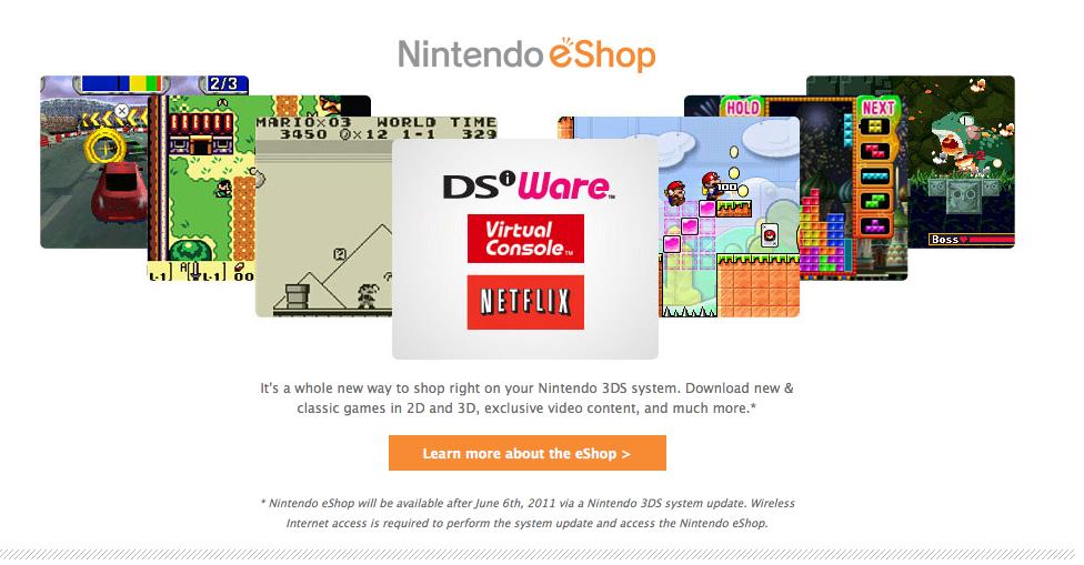 Nintendo eShop servers down