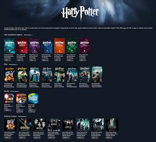 Collezione di Harry Potter per utenti iOS