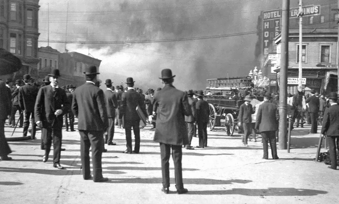 history in photos san francisco earthquake the fire. Black Bedroom Furniture Sets. Home Design Ideas