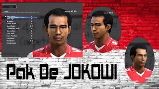 Face Jokowi PES 2013 by Oyoy Tigablaz