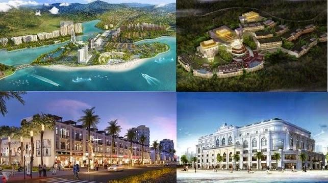 Những dự án bất động sản hàng tỷ đô ở Quảng Ninh - Hạ Long Marina