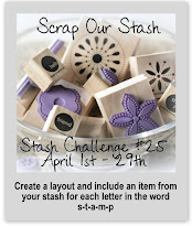 Scrap Our Stash April Stash Challenge 25