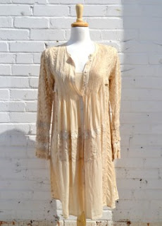 Lauralee Honey Oat Dress