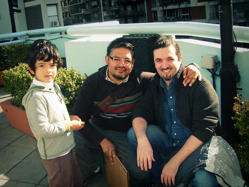 Alex Dukal y Alberto Cerriteño