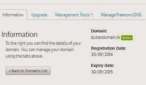 Dot TK: Domain Gratis Selamanya, Daftar dengan Mudah
