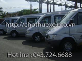 Cho thuê xe ở tại Cần Thơ- thuê xe 16 chỗ