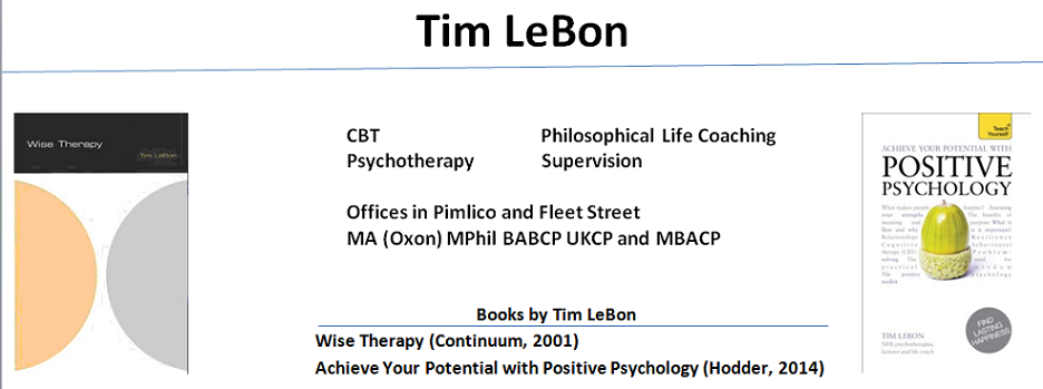 Tim LeBon London Therapy