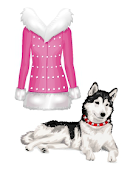 club Free Barbie Sparkling Jacket and Dog