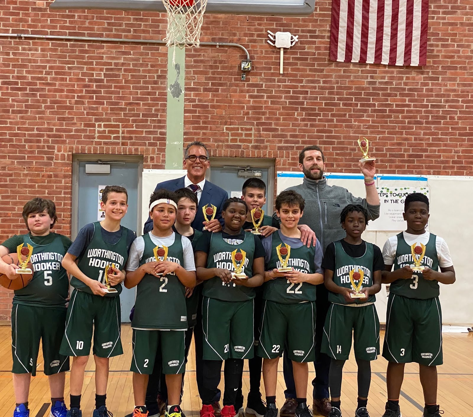 WHBA Grades 5-6 Team Mark Division Title in City League, 2019-20