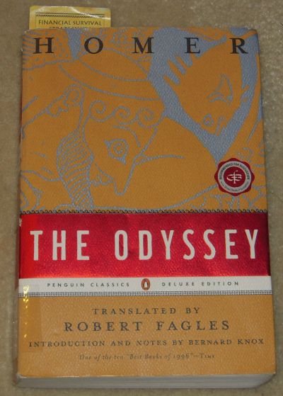 a review of the book the odyssey by homer My novel, circe, retells the life of the witch circe who turns odysseus's men to  pigs in the odyssey, and one of the many intriguing myths about.