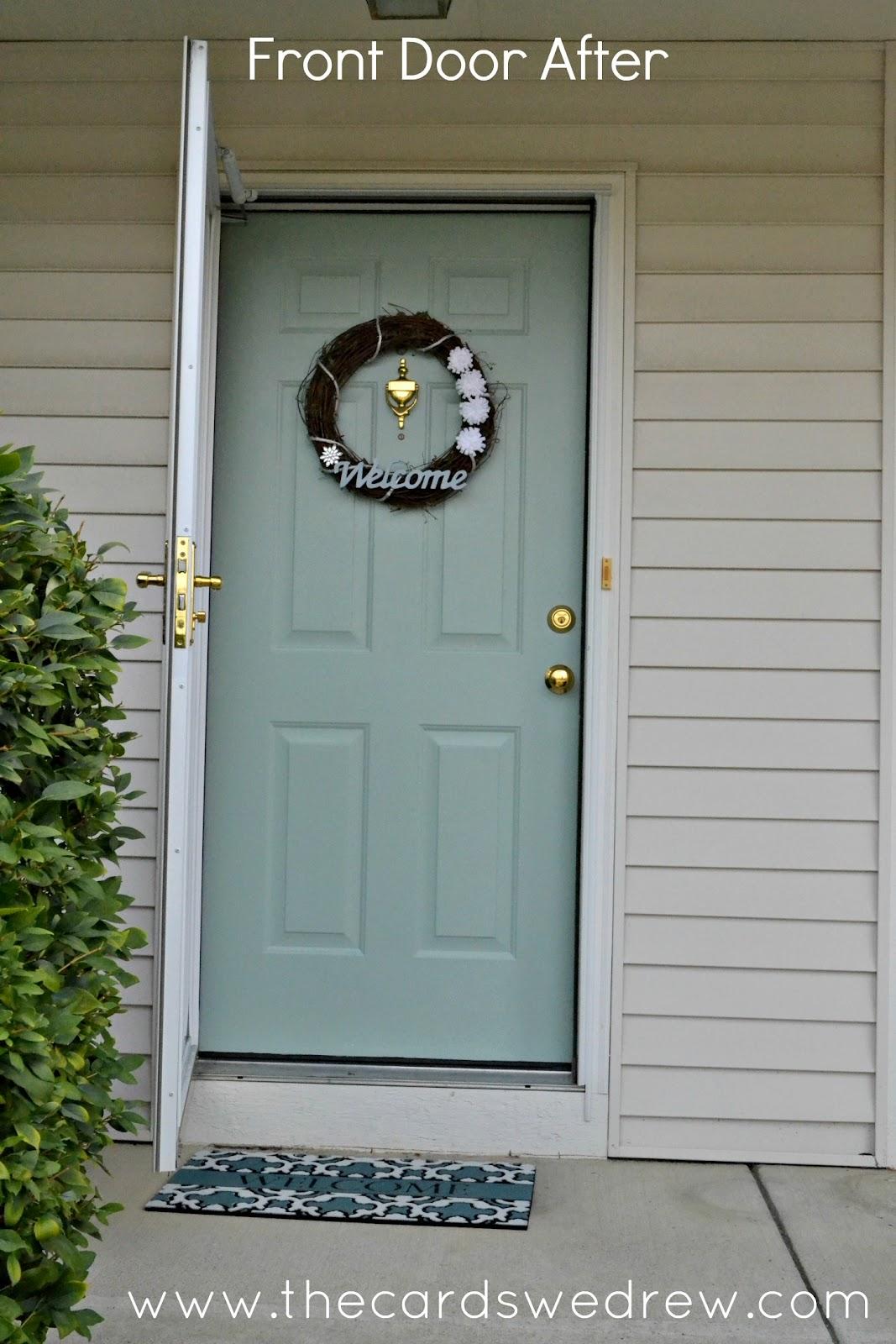 1600 #4C5E34 Front Door Color! Soo Pretty!!! Irwin Road Pinterest pic Colorful Front Doors 47111067