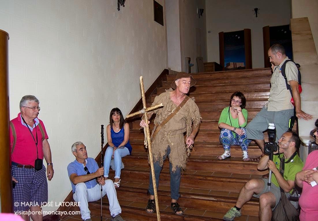 Navegantes Visita Teatralizada Castillo de Papa Luna Comarca del Aranda Aragón