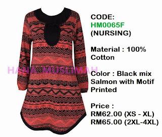 T-shirt-Hana-Muslimah-HM0065F