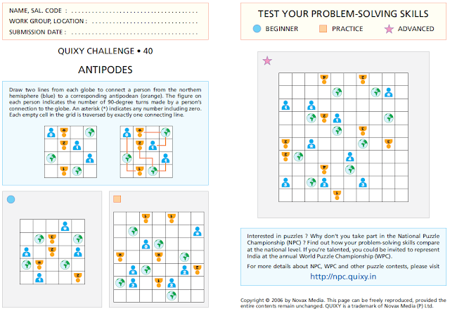Antipodes or Network Puzzles