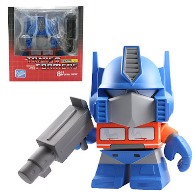 "Classic Optimus Prime 8"" Transformers Vinyl Figure by The Loyal Subjects"