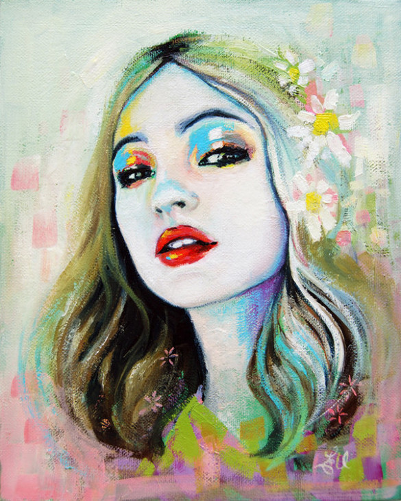 Wonderful Portrait Paintings Art ~ Aspiring