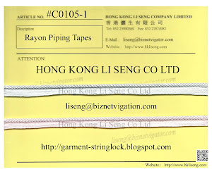 Rayon Piping Tapes Manufacturer - Hong Kong Li Seng Co Ltd