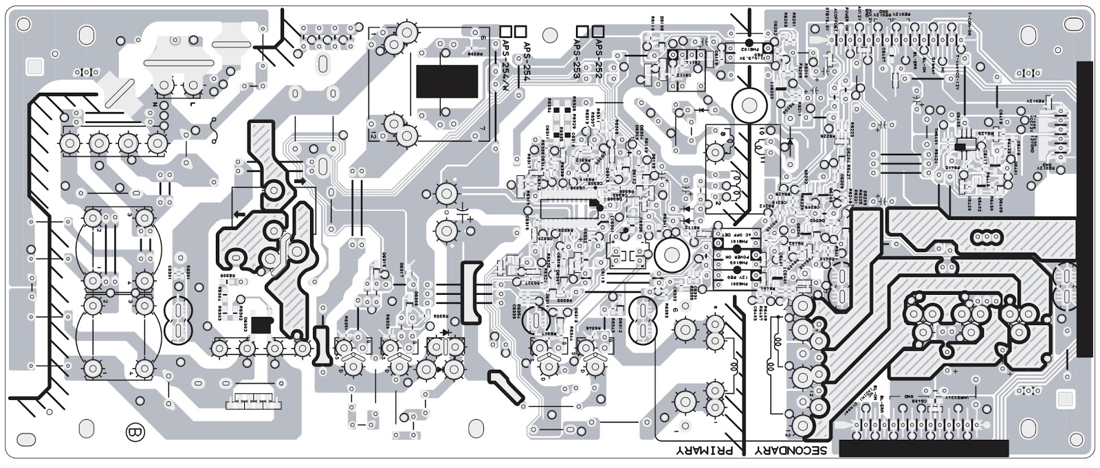 SONY    KLV   32BX300     KLV   40BX400  MAIN POWER SMPS     SCHEMATIC       DIAGRAM      Electro help