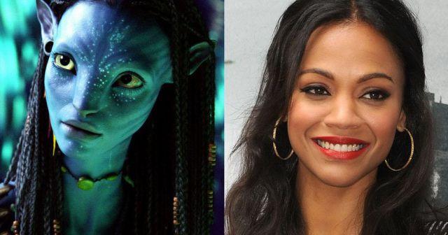 Zoe Saldana como Neytiri em Avatar