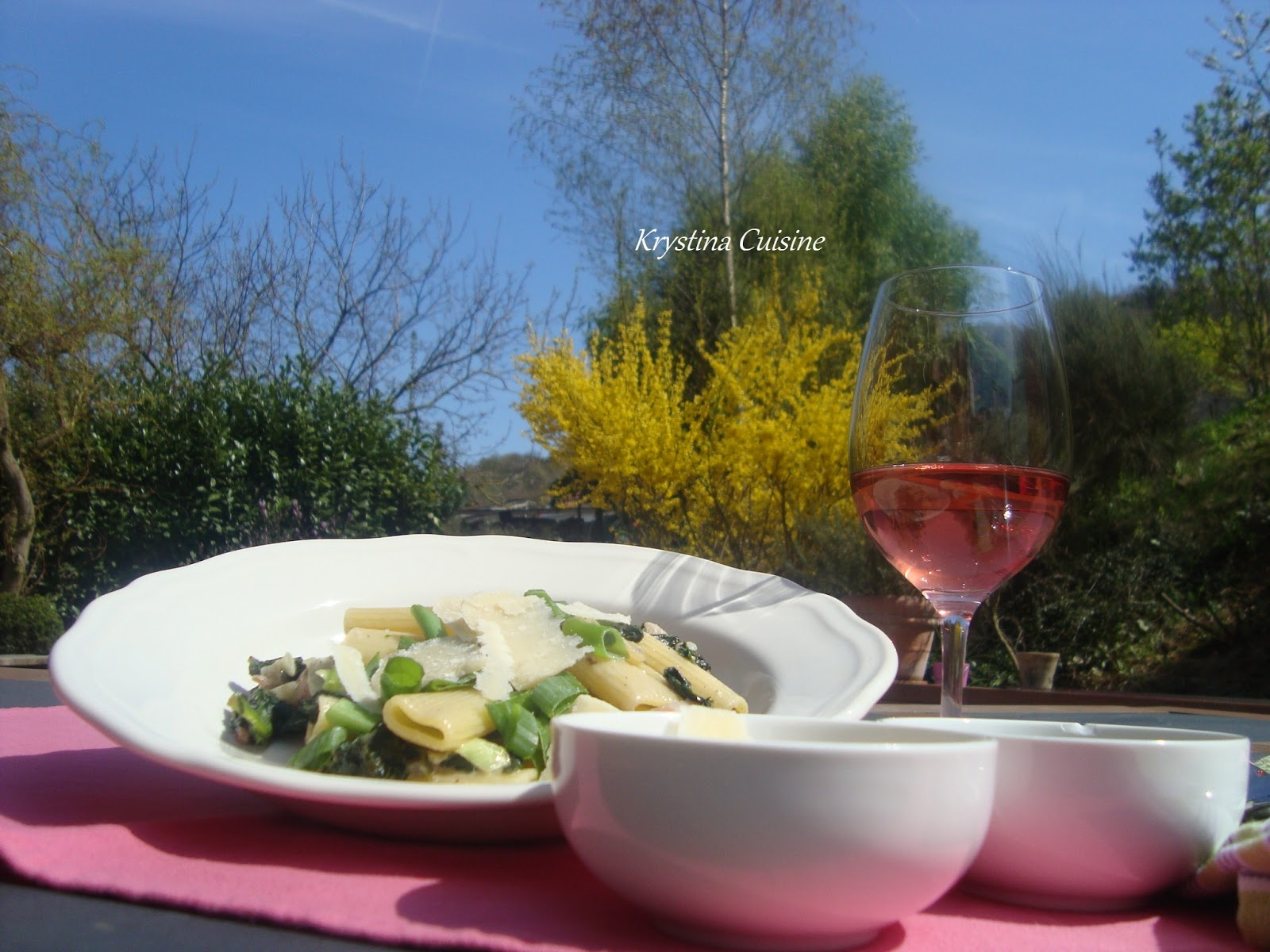 Krystina cuisine rigatoni n 24 la krystina cuisine for Allez cuisine translation