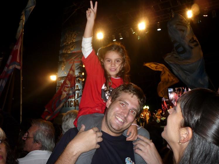 ...nuestros niños necesitan disfrutar de una Argentina que los proteja