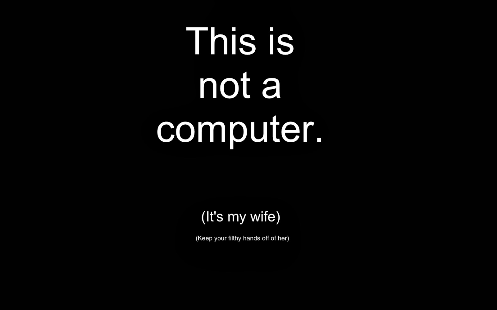 Funny Computer Wallpaper