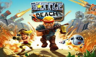 Screenshots of the Battle Beach for Android tablet, phone.