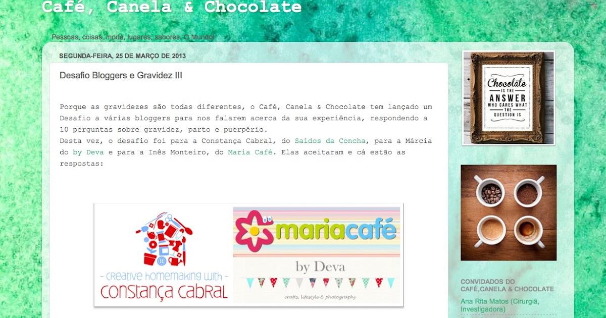 Me @ Café, Canela e Chocolate