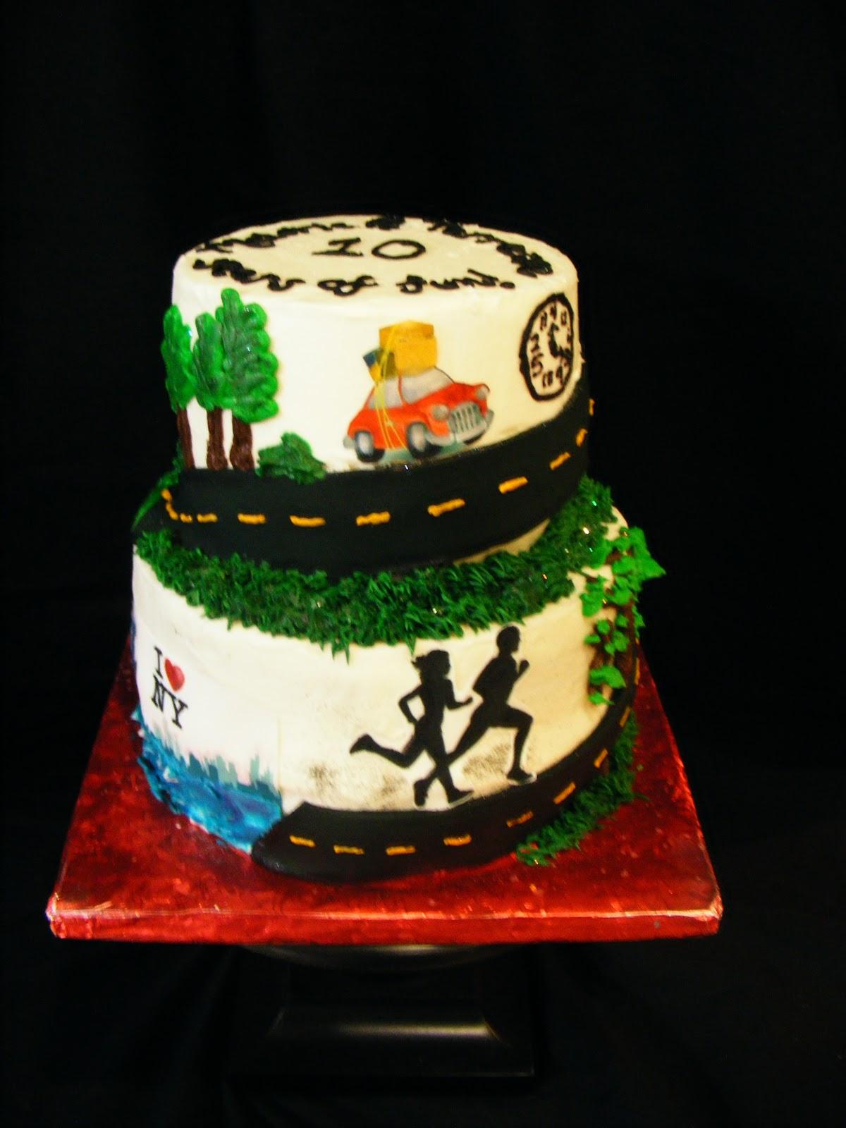 PattiCakes 10th Anniversary Cake