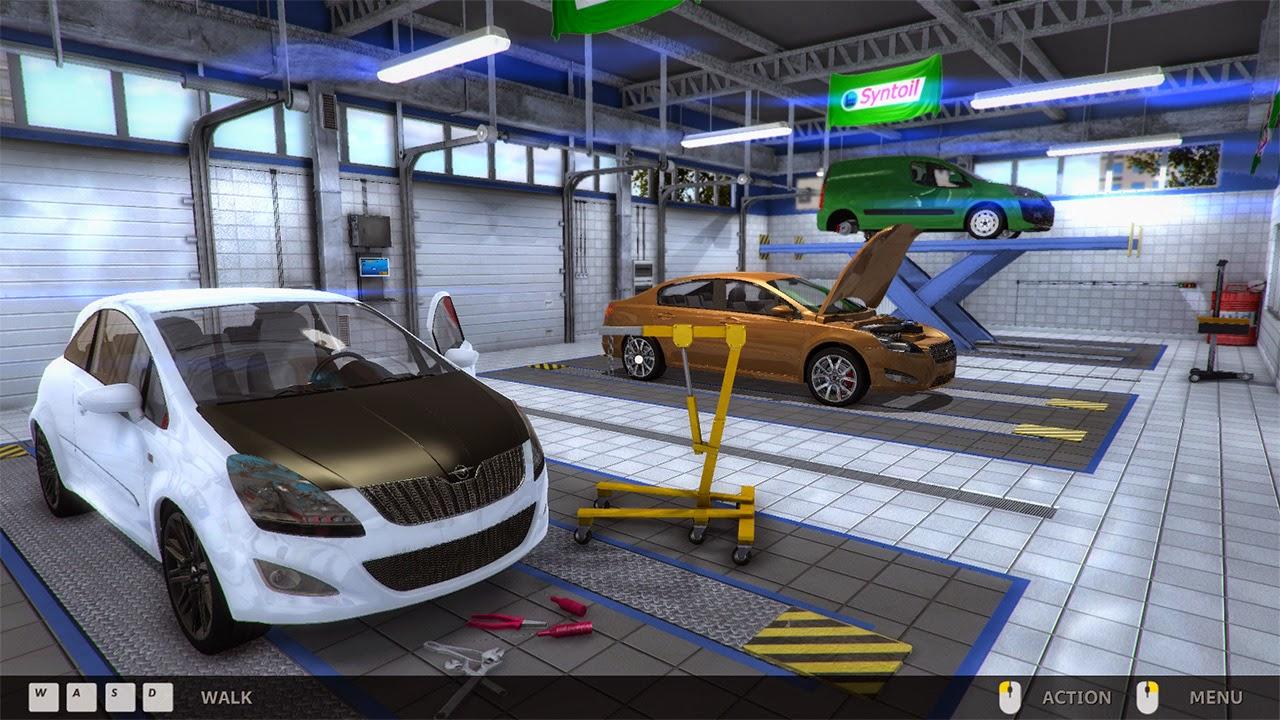 Car mechanic simulator indir