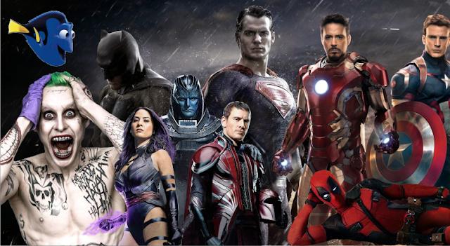 """A Origem da Justiça, Guerra Civil e """"Os 25 filmes mais esperados de 2016"""""""