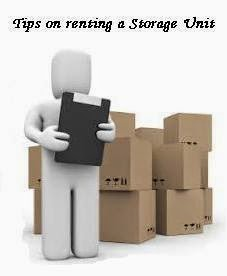 Tips for renting a storage unit