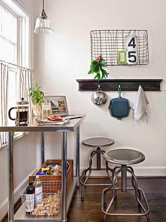 Decotips 4 tips para decorar cocinas peque as decoraci n - Trucos para casas pequenas ...