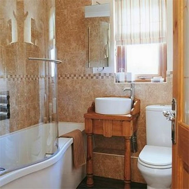 Bathroom ideas abstracttheday for Tiny bathroom shower ideas